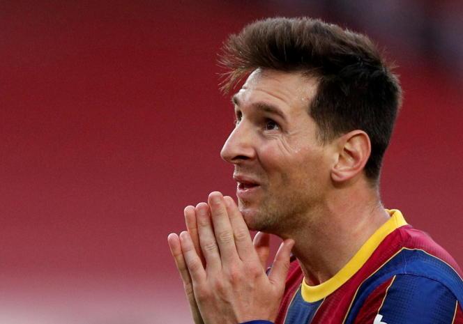 Lionel Messi, 16 de mayo de 2021.