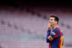 Lionel Messi, à Barcelone, le 16 mai 2021.