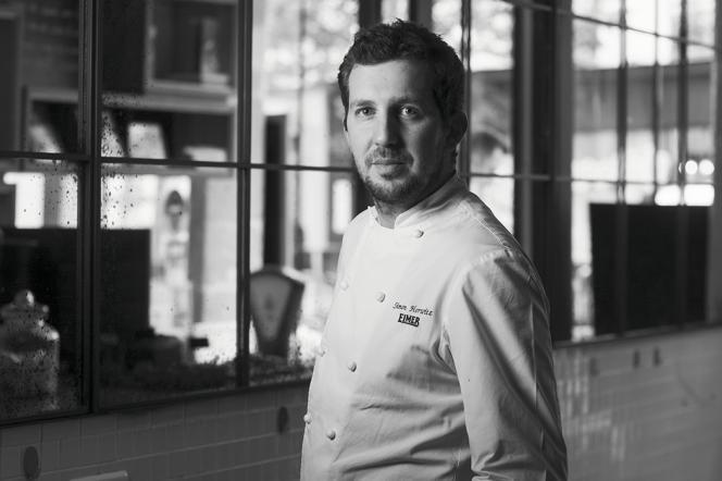 Simon Horwitz, chef du restaurant Elmer, à Paris, le 1er juillet 2021.