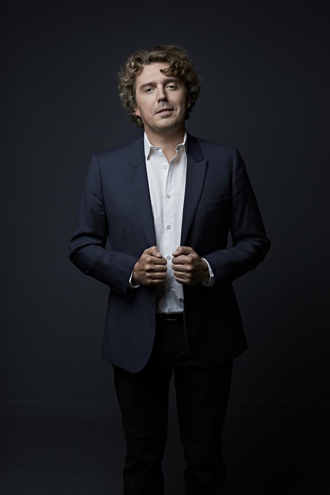 Alex Vizorek, à Paris, en juin 2020.