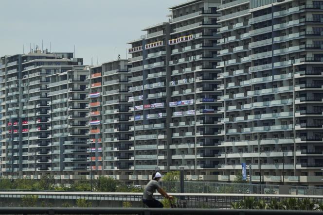 Desa Olimpiade, 15 Juli 2021 di Tokyo.
