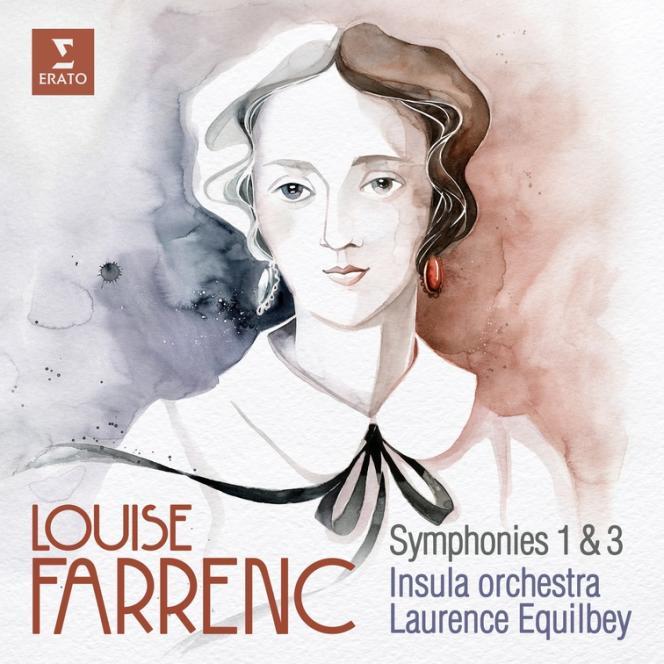 Pochette de l'album consacré aux symphonies 1 et 3 de Louise Farrenc.