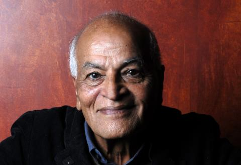 PARIS, FRANCE - SEPTEMBER 27. Indian writer Satish Kumar poses during a portrait session held on September 27, 2010 in Paris, France. (Photo by Ulf Andersen/Getty Images)