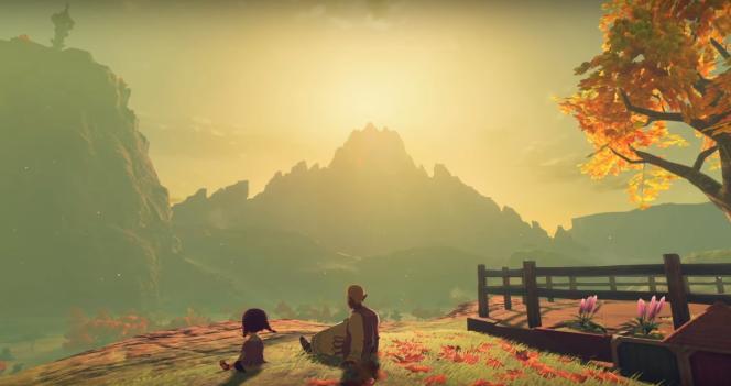 Quand les paysages de «Zelda: Breath of the Wild» deviennent prétexte à la contemplation.