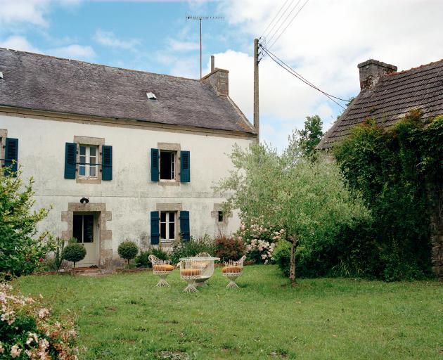 La ferme d'Anthony Watson et Benoît Rauzy, à Plouhinec.