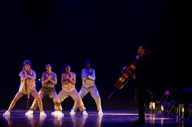 Le spectacle «Steps on Strings»au Théâtre des Lucioles.