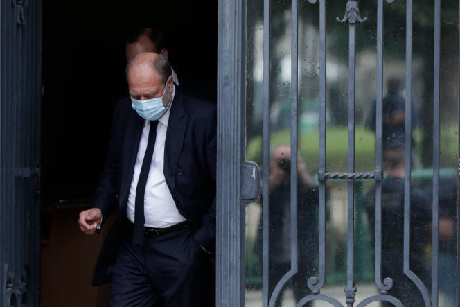 Le ministre de la justice, Eric Dupond-Moretti, à Paris, vendredi 16 juillet 2021.