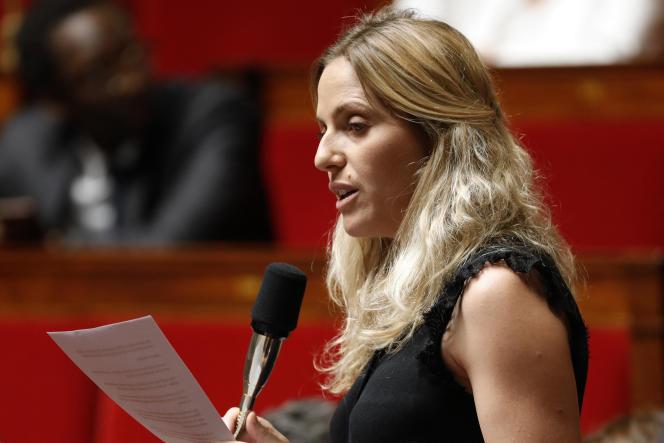 La députée LRM Cécile Muschotti à l'Assemblée nationale, à Paris, le 26 juin 2019.