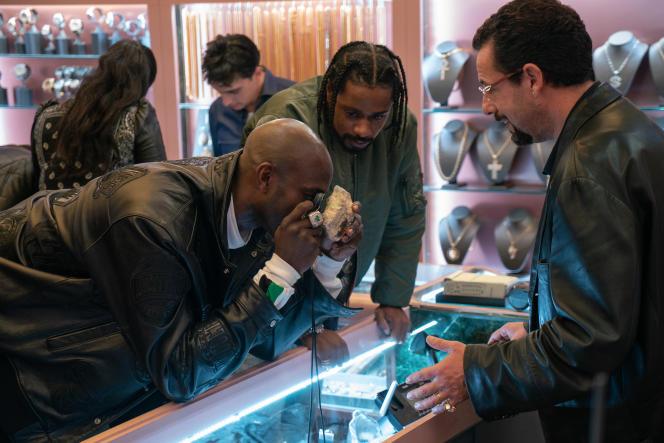 Extrait du film «Uncut Gems» (2019),des frères Safdie, produit par le studio A24.