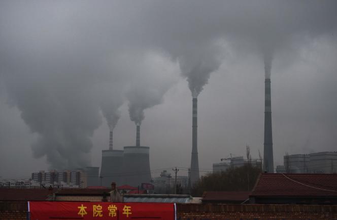 La centrale à charbon de Datong, dans la province du Shanxi, en Chine, le 19 novembre 2015.