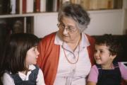 La psychanalyste Françoise Dolto, en 1983.
