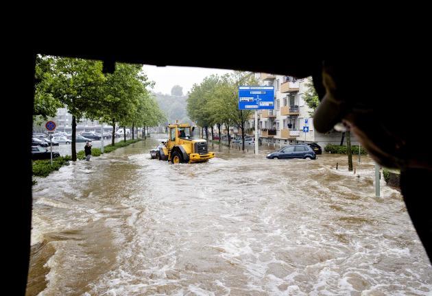 A Valkenburg, aux Pays-Bas, le 15 juillet 2021.