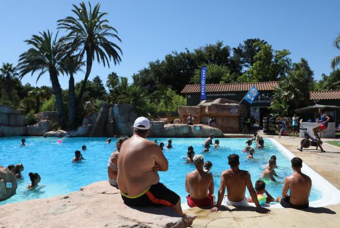 Le camping La Sirène, à Argelès-sur-Mer (Pyrénées-Orientales), en août 2020.