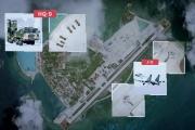 Des vidéos et des images satellites au dessus de la mer de Chine.