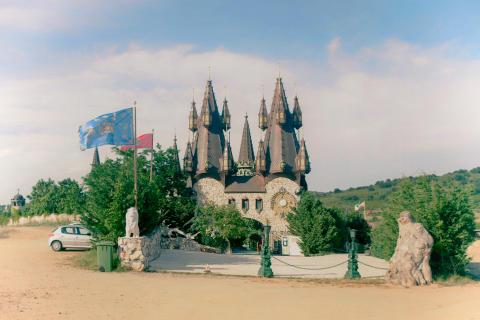 Juin 2021, Bulgarie. Wind Castle, Ravadinovo city in Bulgaria's Blacksea coast.