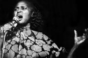 La chanteuse sud-africaine Miriam Makeba en 1978.