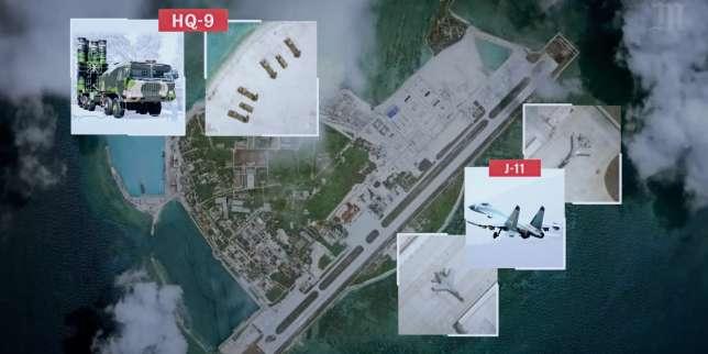 Enquête vidéo: comment Pékin impose sa présence militaire en mer de Chine méridionale