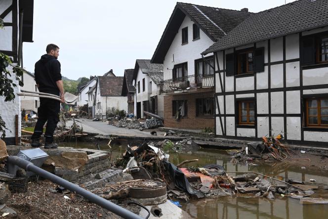 A Schuld, dans l'ouest de l'Allemagne,le 17 juillet.