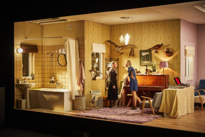 «Une femme en pièces», de Kata Wéber, mise en scène parKornel Mundruczo au Festival d'Avignon, en juillet 2021.