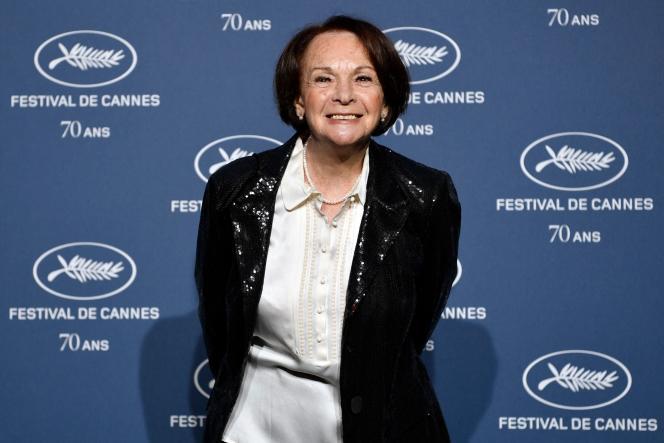 L'actrice Françoise Arnoul, ici en septembre 2016.