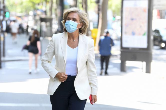 Valérie Pécresse, à Paris, le 20juillet2021.