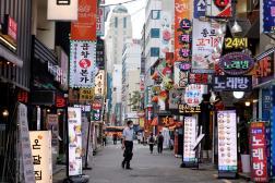 A Séoul, en Corée du Sud, le 12juillet 2021.