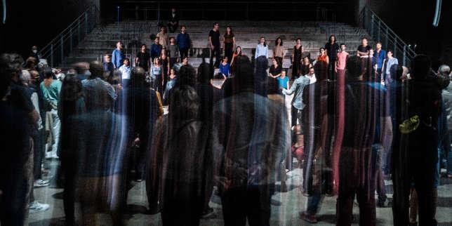 Opéra: un saisissant «Requiem humain» dans l'ancienne base sous-marine de Bordeaux