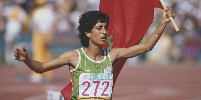 JO de Los Angeles 1984 : la sprinteuse marocaine Nawal Al-Moutawakel, première toutes catégories