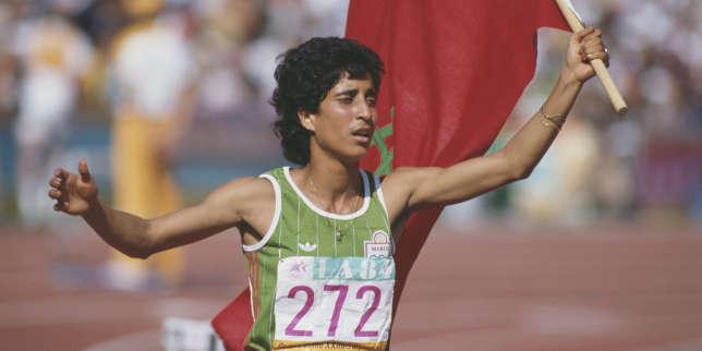 JO de Los Angeles1984: la sprinteuse marocaine Nawal Al-Moutawakel, première toutes catégories