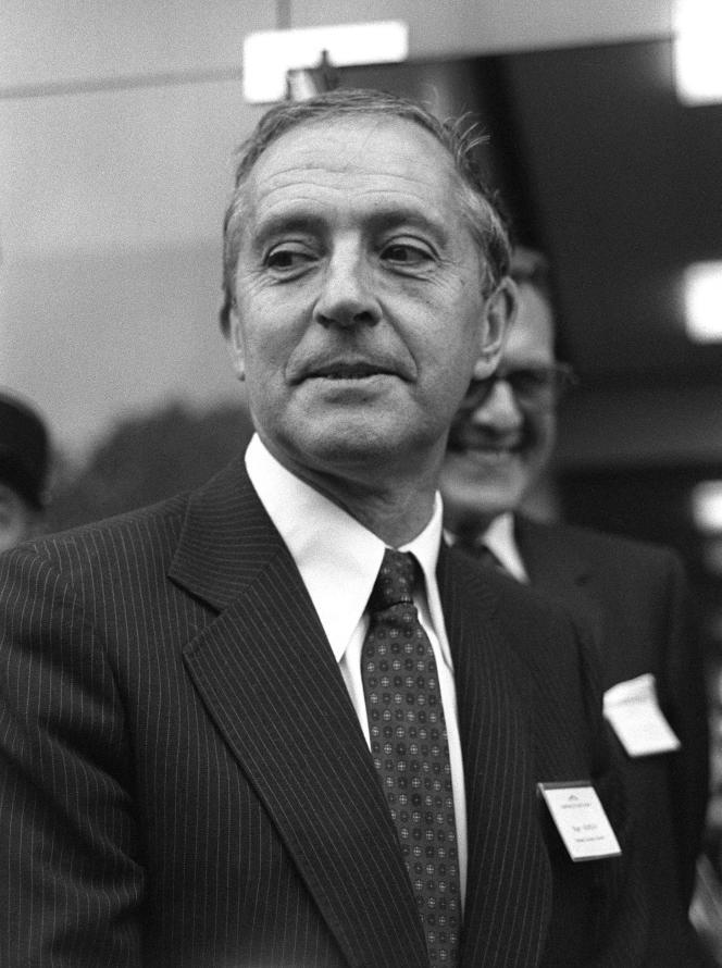 Roger Fauroux, en décembre 1981, à Paris.