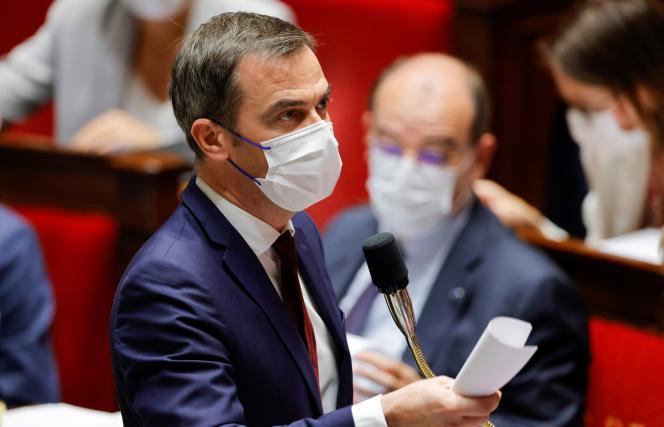 Le ministre de la santé, Olivier Véran, à l'Assemblée nationale à Paris, le 20 juillet 2021.