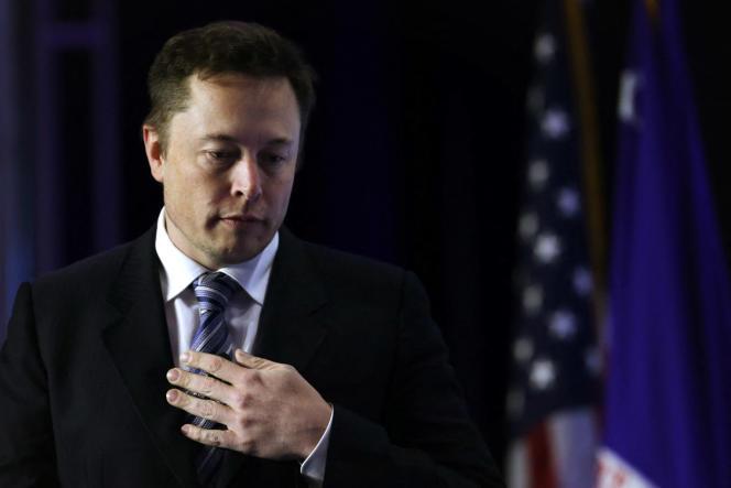 Elon Musk lors de la conférence annuelle de l'Export-Import Bank, le 25 avril 2014, à Washington.