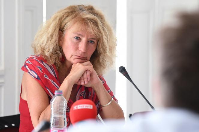 La députée du Bas-Rhin Martine Wonner, le 21 juillet 2021, à Paris.