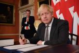 Le gouvernement britannique réclame une renégociation du protocole nord-irlandais