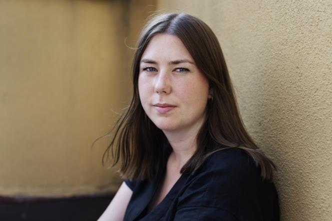 Astrid Hoem, présidente de la Ligue des jeunes travaillistes (AUF), à Oslo, le 20juillet 2021.