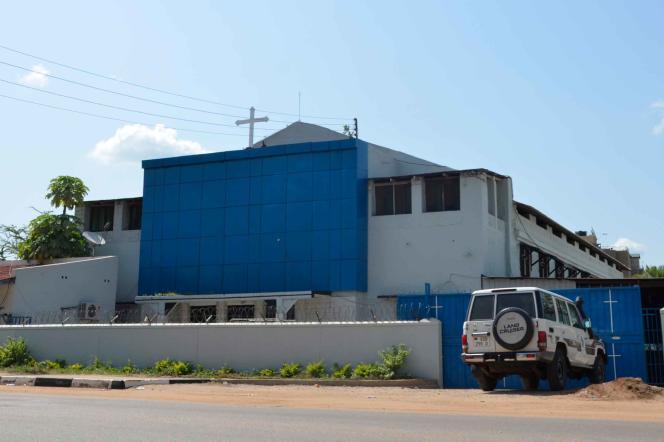 L'ancien cinémaJuba Picture House transformé en église. Ici, en 2018.