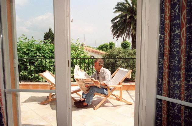 Vincent Bolloré, à Saint-Tropez (Var), en mai 1998.