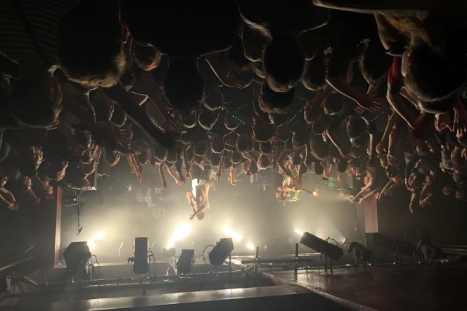 Le groupeZebrahead en concert, le 24 septembre 2019, à La Maroquinerie, à Paris.