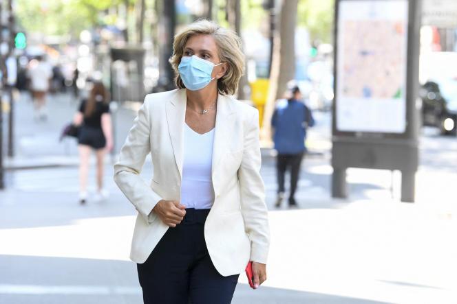 Valérie Pécresse à Paris, le 20 juillet 2021.