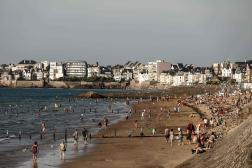 A Saint-Malo (Ille-et-Vilaine), le 22 juillet.