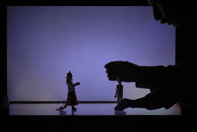 «La Petite dans la forêt profonde», dePantelis Dentakis, sur un texte de Philippe Minyana, au Festival d'Avignon 2021.