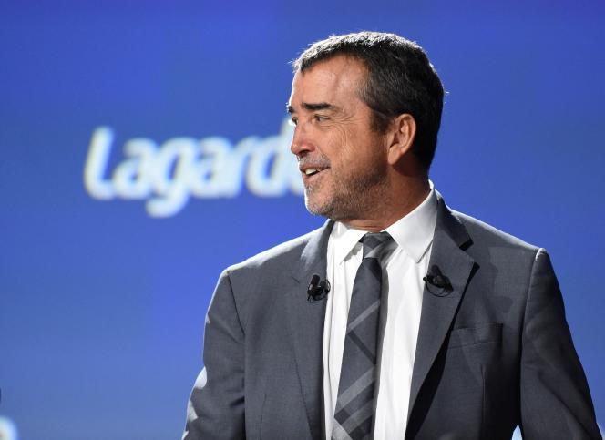 Arnaud Lagardère, pada rapat umum kelompok dengan nama yang sama, di Paris, pada 10 Mei 2019.