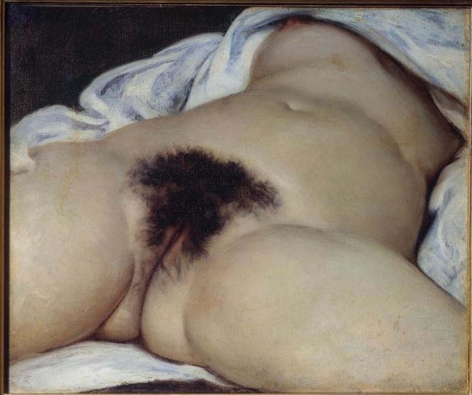 «L'Origine du monde»(1866), de Gustave Courbet, Musée d'Orsay, Paris.