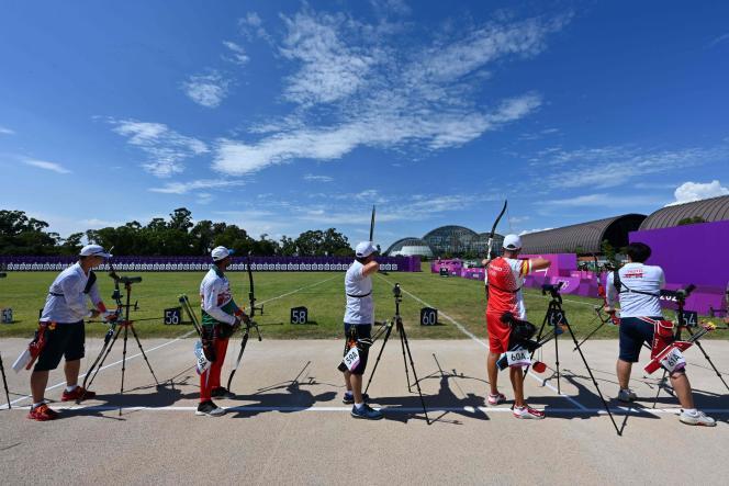 Les épreuves de tir à l'arc ont débuté vendredi 23 juillet à Tokyo.
