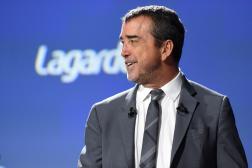 Arnaud Lagardère, lors de l'assemblée générale du groupe du même nom, à Paris, le 10 mai 2019.