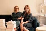 La romancière Delphine deVigan et l'éditrice Karina Hocine, complices en écriture