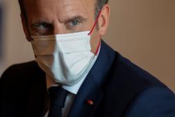 Emmanuel Macron à Tokyo, le 24 juillet 2021.