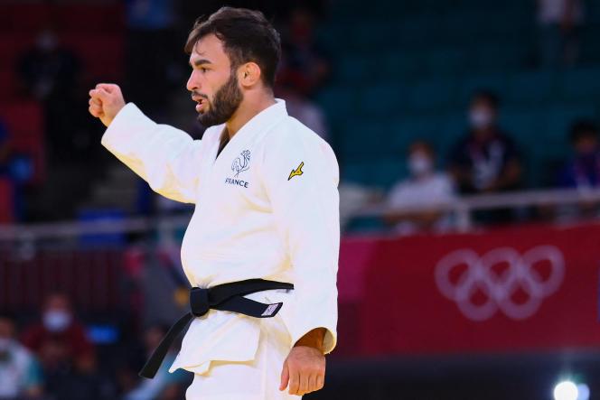 En remportant la médaille de bronze, le judoka Luka Mkheidze décroche le premier podium de la délégation française à Tokyo.