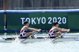 Laura Tarantola et Claire Bove espèrent remporter elles aussi une médaille d'or lors de ces Jeux olympiques de Tokyo 2021.(AP Photo/Lee Jin-man)