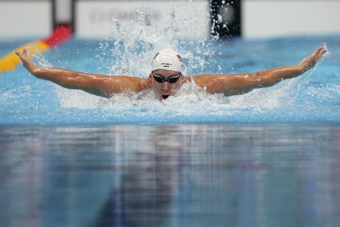 L'Américain Chase Kalisz sacré champion olympique du 400m quatre nages, le dimanche 25juillet, aux Jeux olympiques de Tokyo.